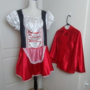 Adult Red Riding Hood Plus Size Costume